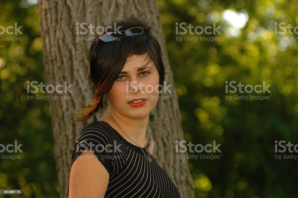 Attractive Portrait stock photo