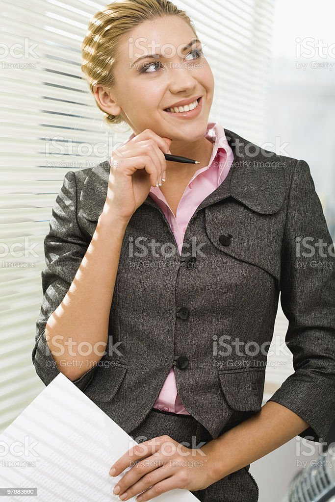 Attractive professional stock photo