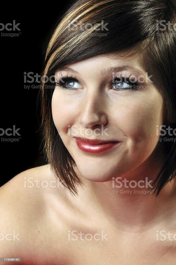 Attractive Smile royalty-free stock photo