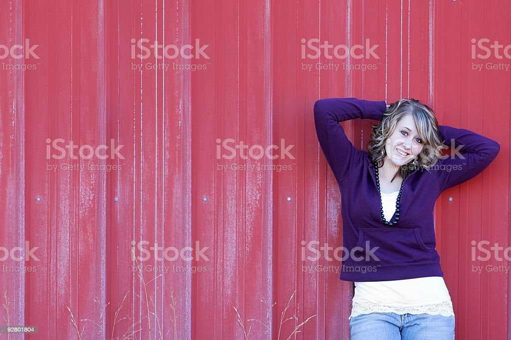 Attractive Teen royalty-free stock photo
