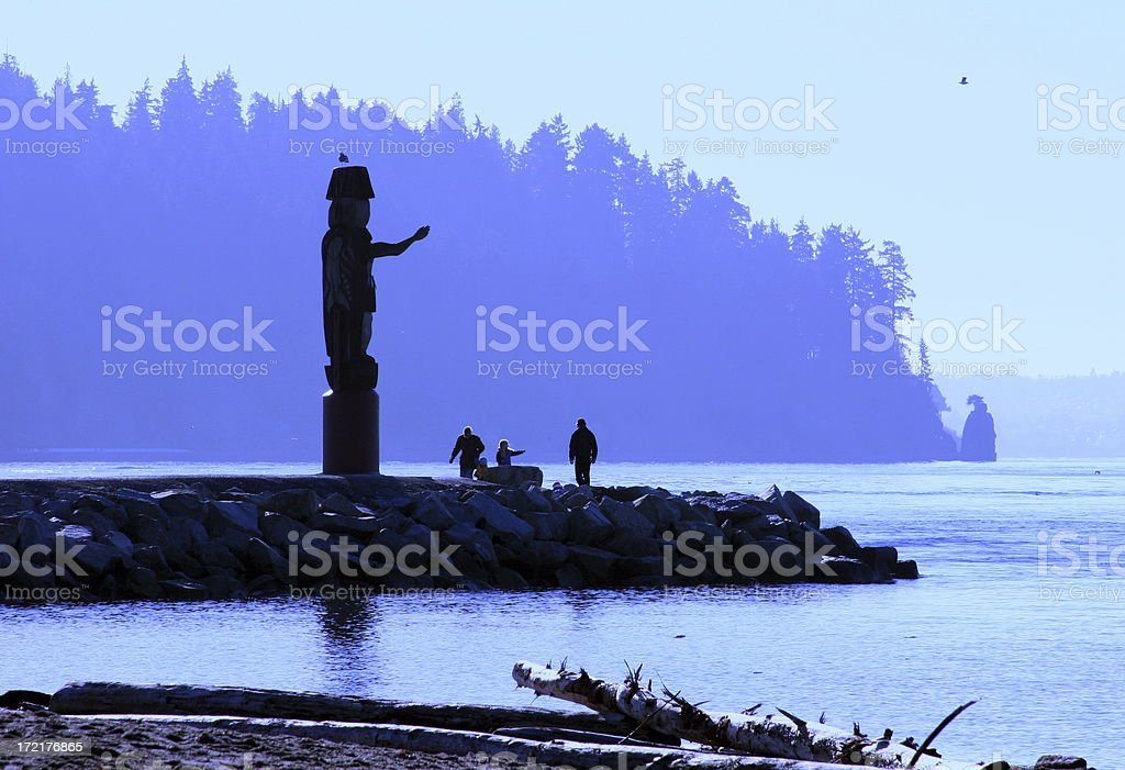 Attractive Vancouver Scene royalty-free stock photo