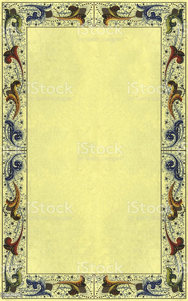 Attractive vintage paper 2 royalty-free stock photo