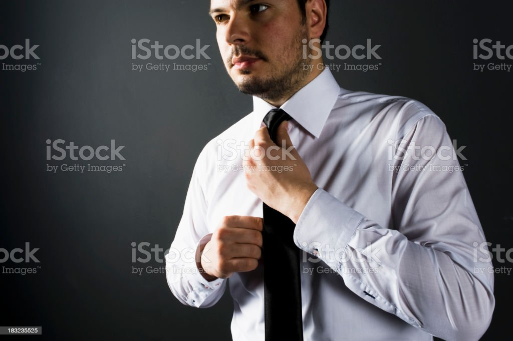 Attractive Well Dressed Young Man royalty-free stock photo
