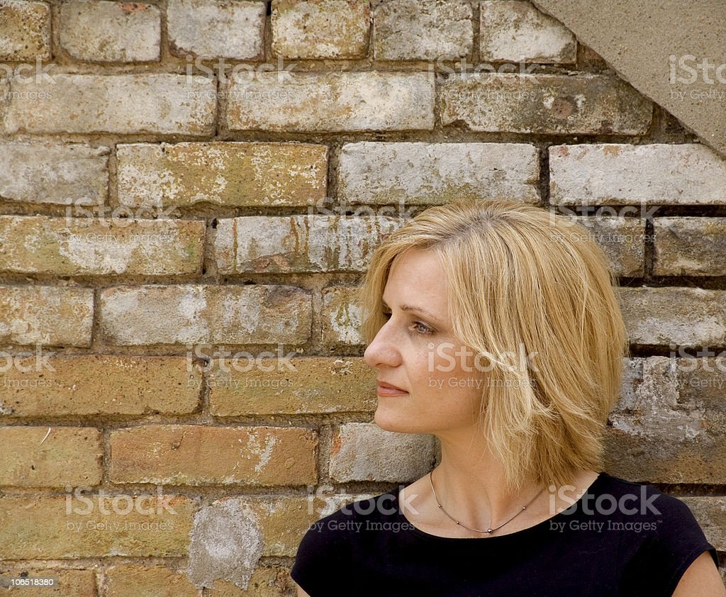 attractive woman - middle aged royalty-free stock photo