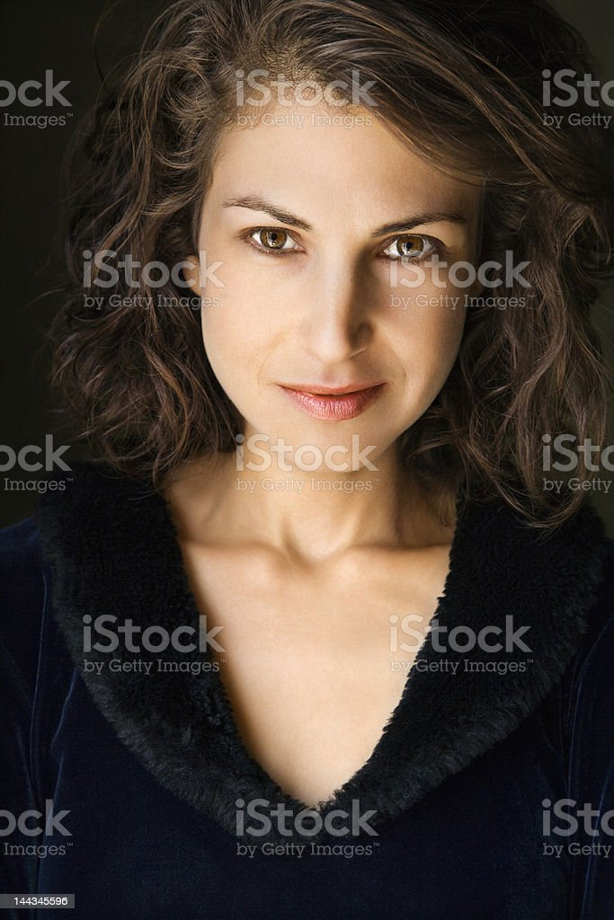 Attractive woman. royalty-free stock photo