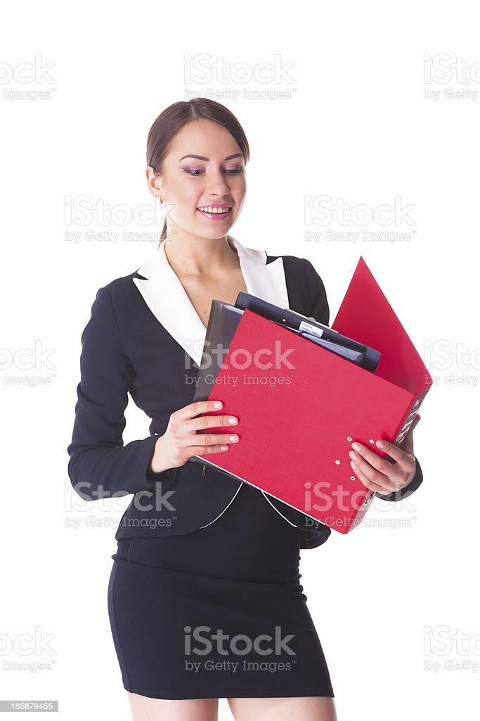 Attraktive Frau Lizenzfreies stock-foto