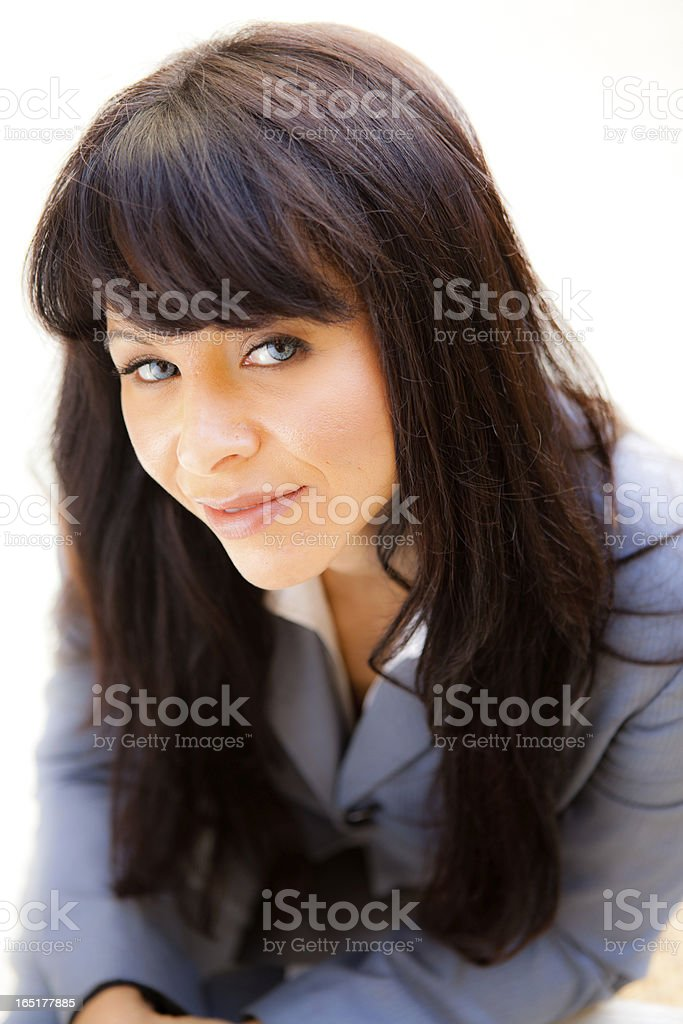 Attractive Woman Portrait royalty-free stock photo