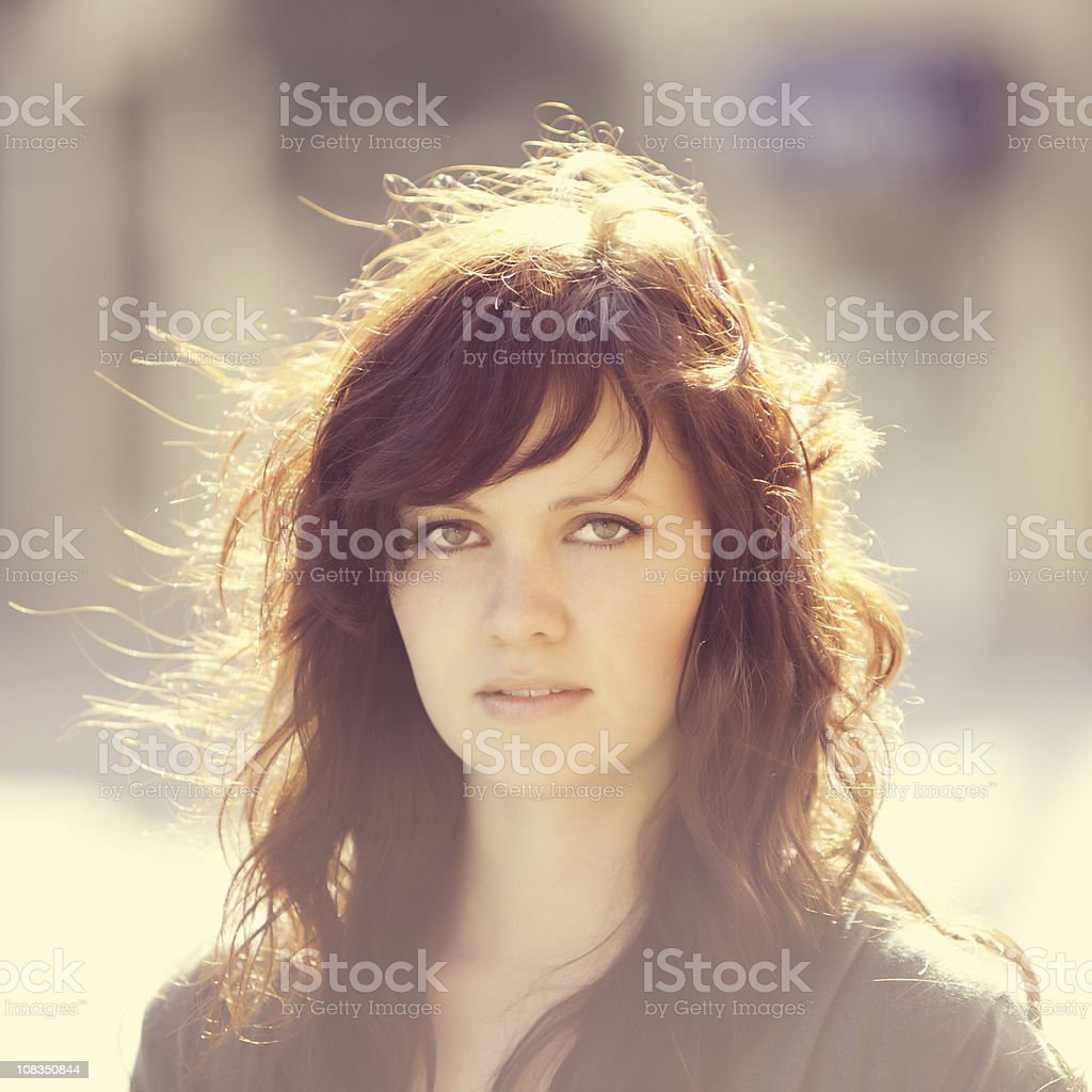 Attractive women on a dreamy day royalty-free stock photo