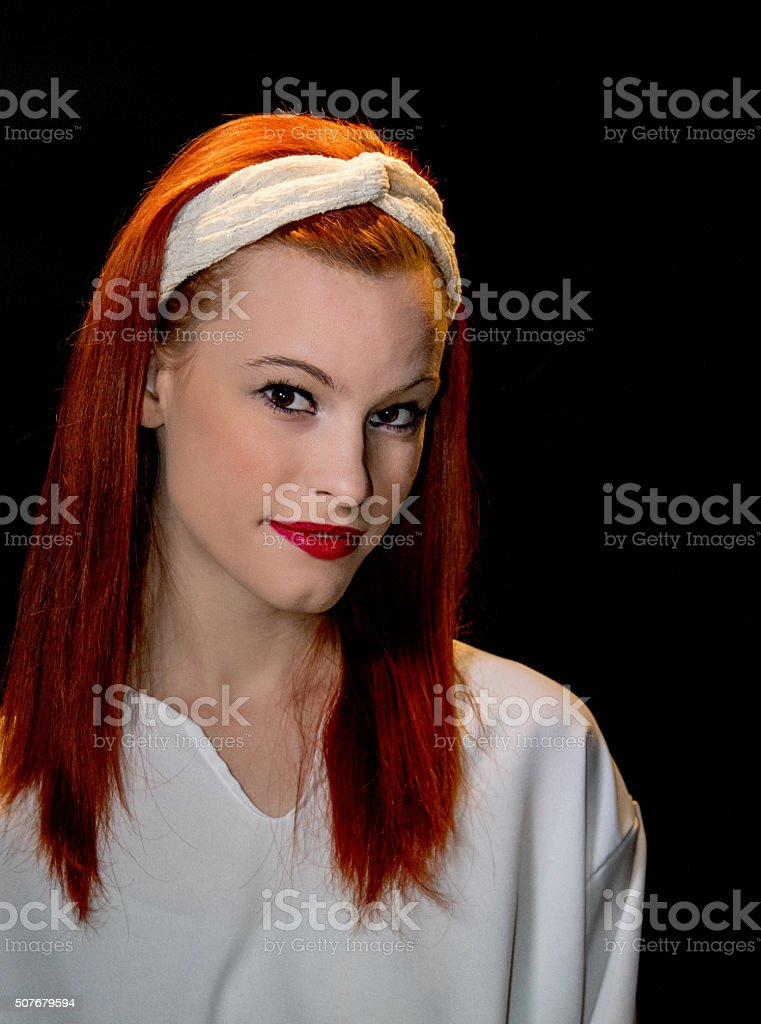 Attractive Young Adult Female stock photo