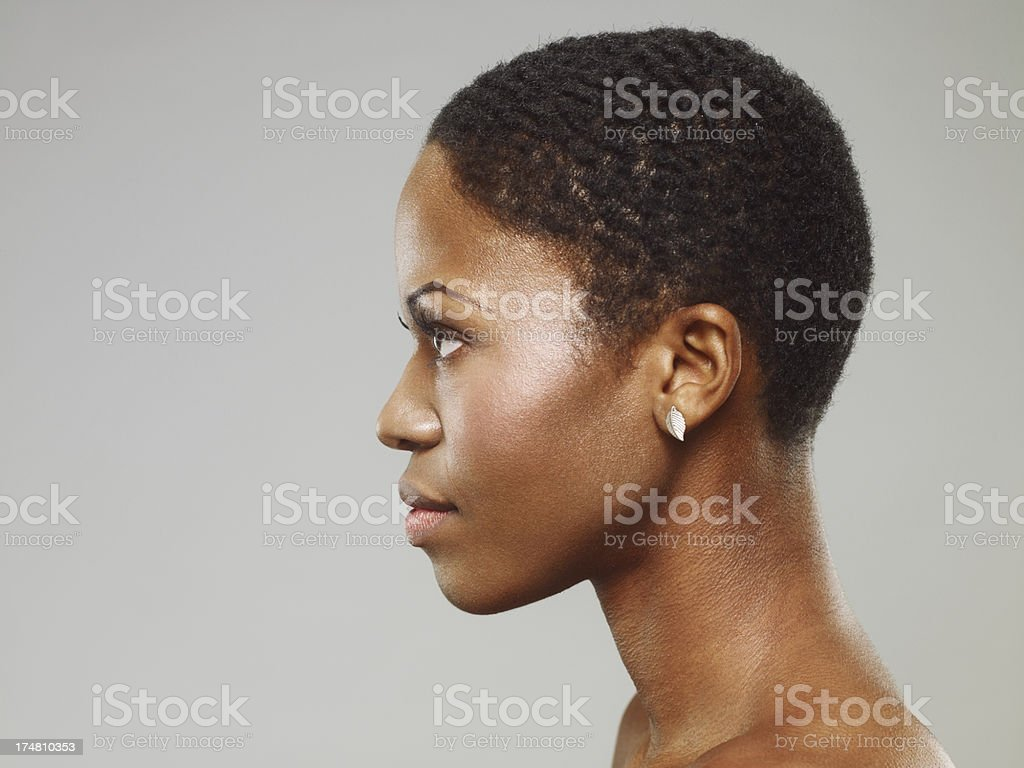 Attractive Young African Woman stock photo