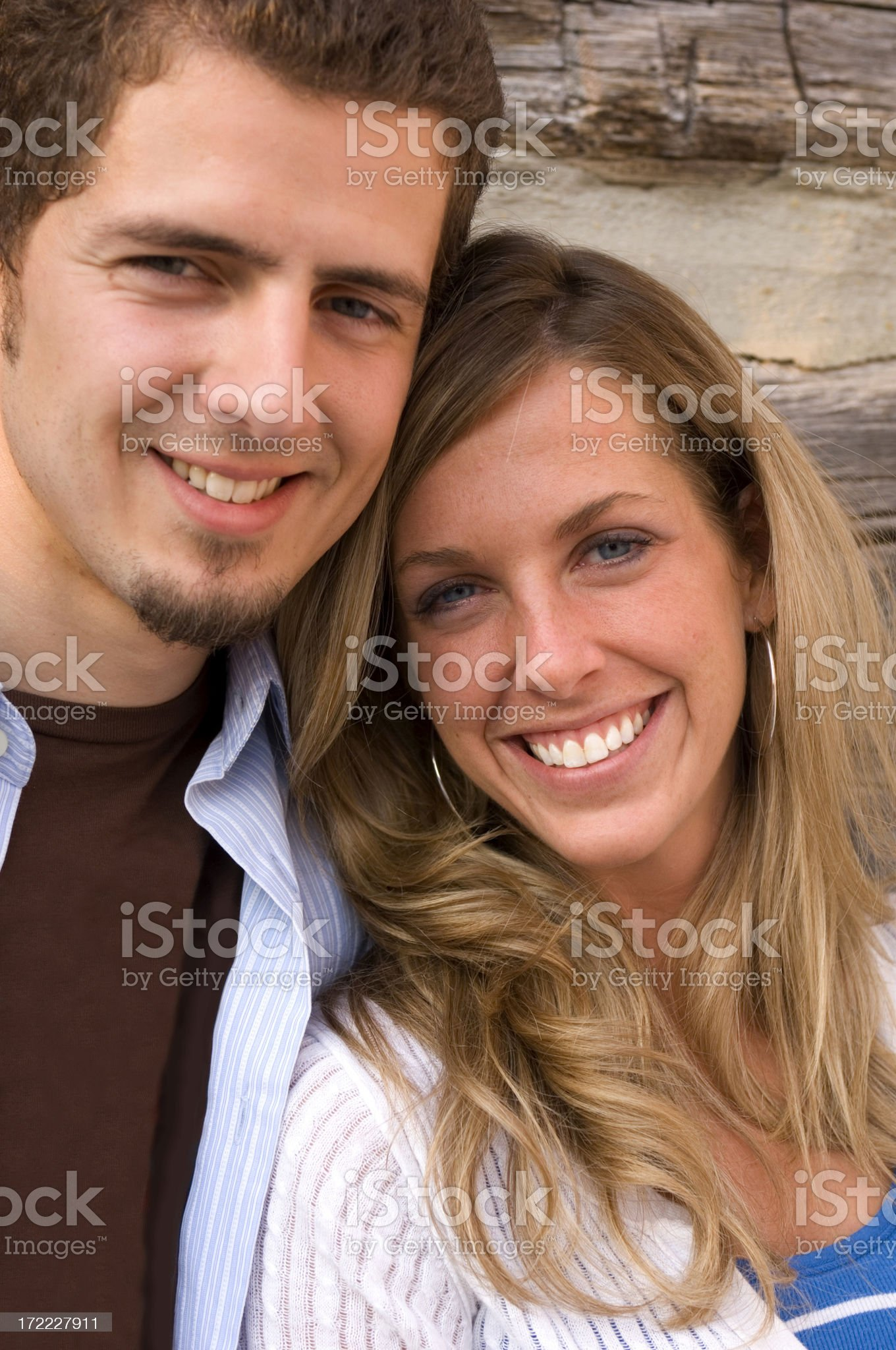 Attractive Young Couple royalty-free stock photo