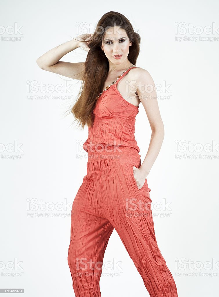 Attractive young female royalty-free stock photo