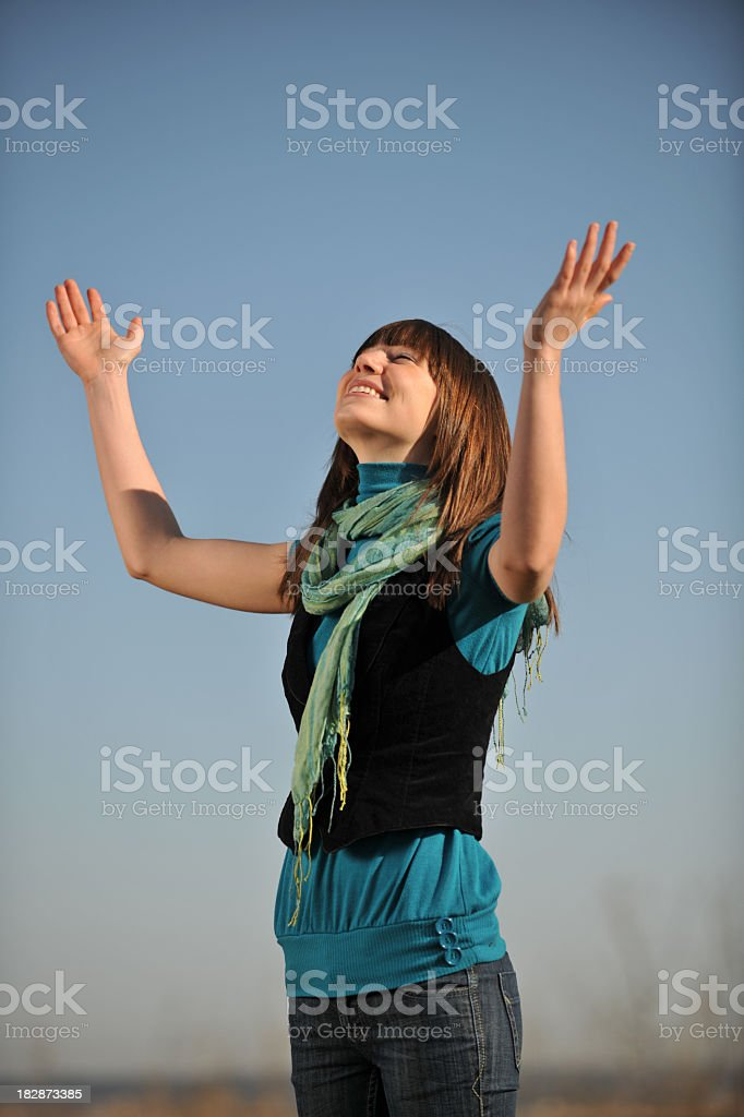 Attractive Young Woman royalty-free stock photo