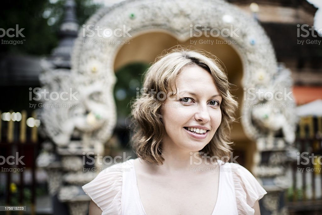 Attractive Young Woman Portrait royalty-free stock photo