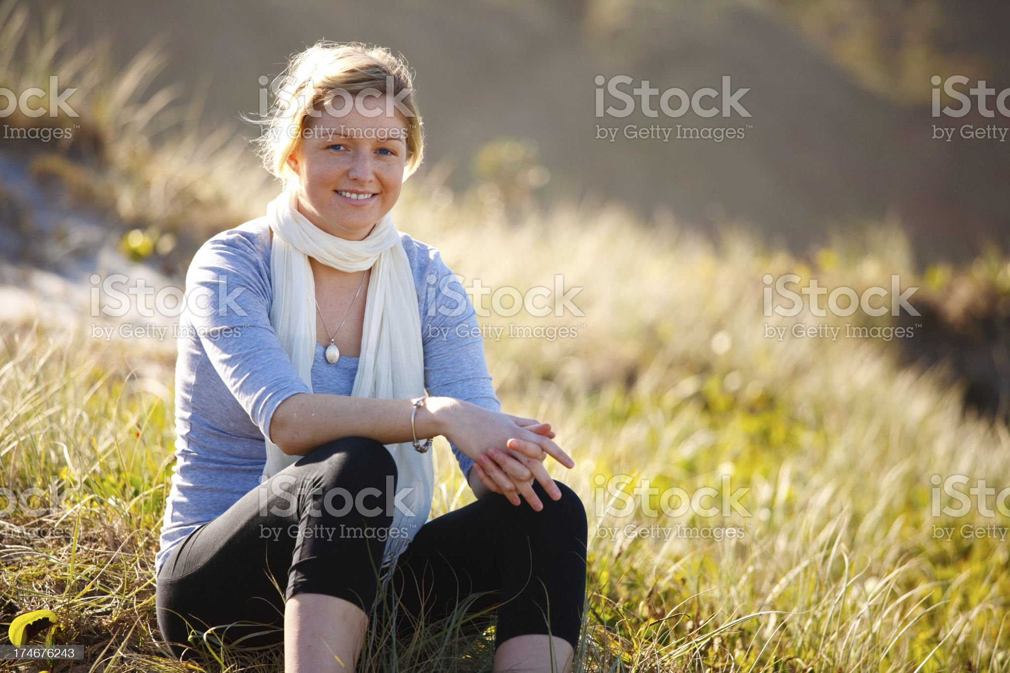 Attractve Young Woman royalty-free stock photo