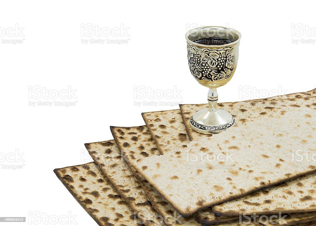 Attributes of Jewish Passover Seder Holidays royalty-free stock photo