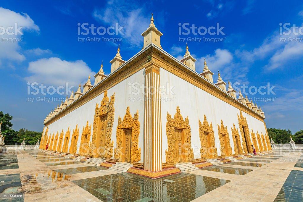 Atumashi Monastery stock photo