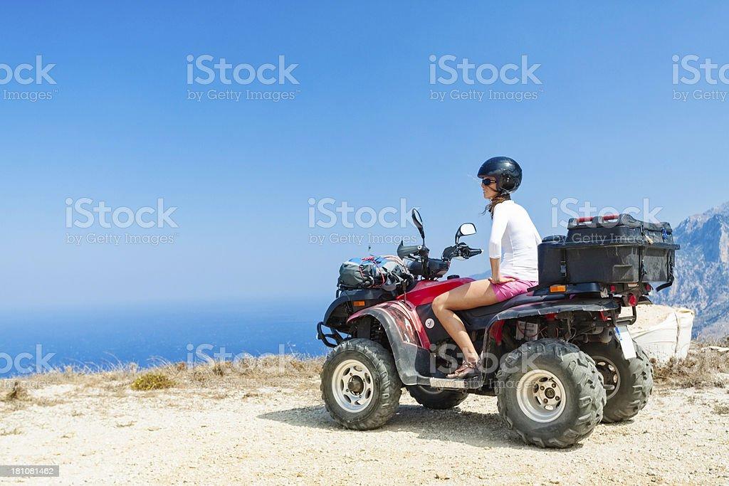 atv four wheeler expedition royalty-free stock photo