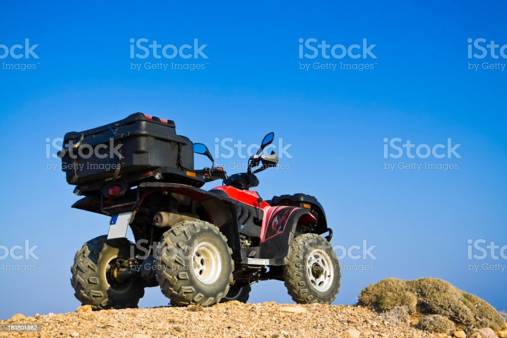 atv quad bike royalty-free stock photo