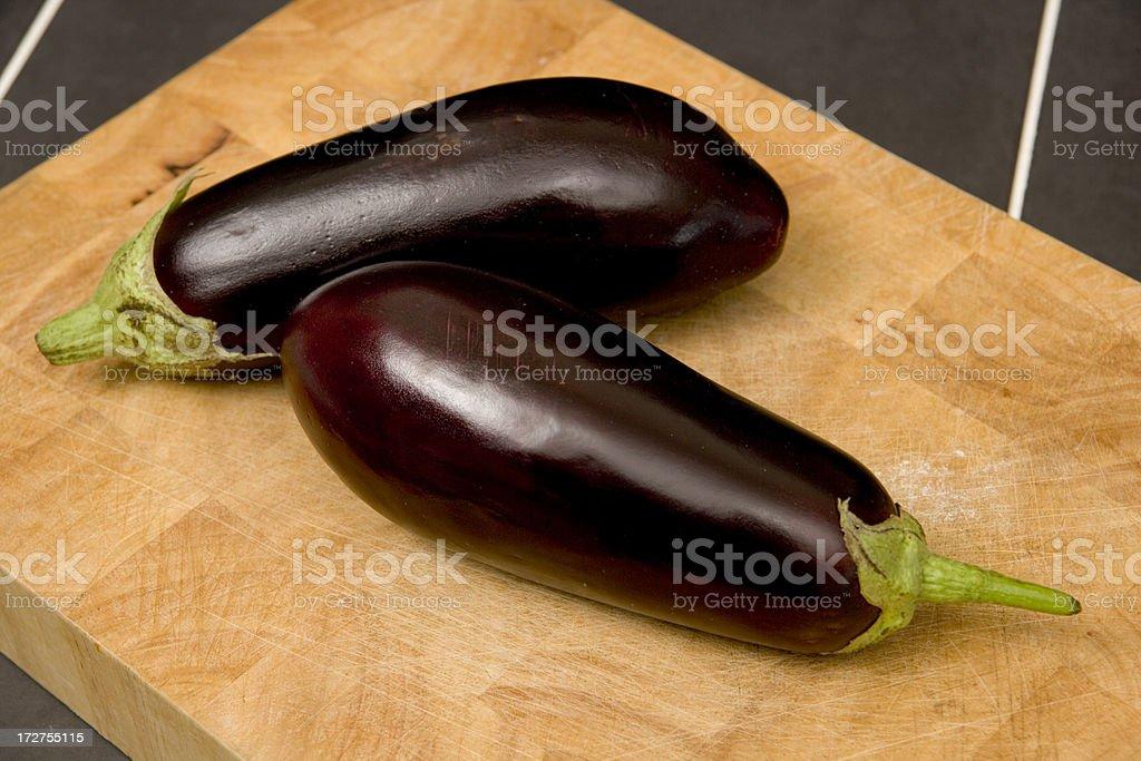 Aubergine eggplant royalty-free stock photo