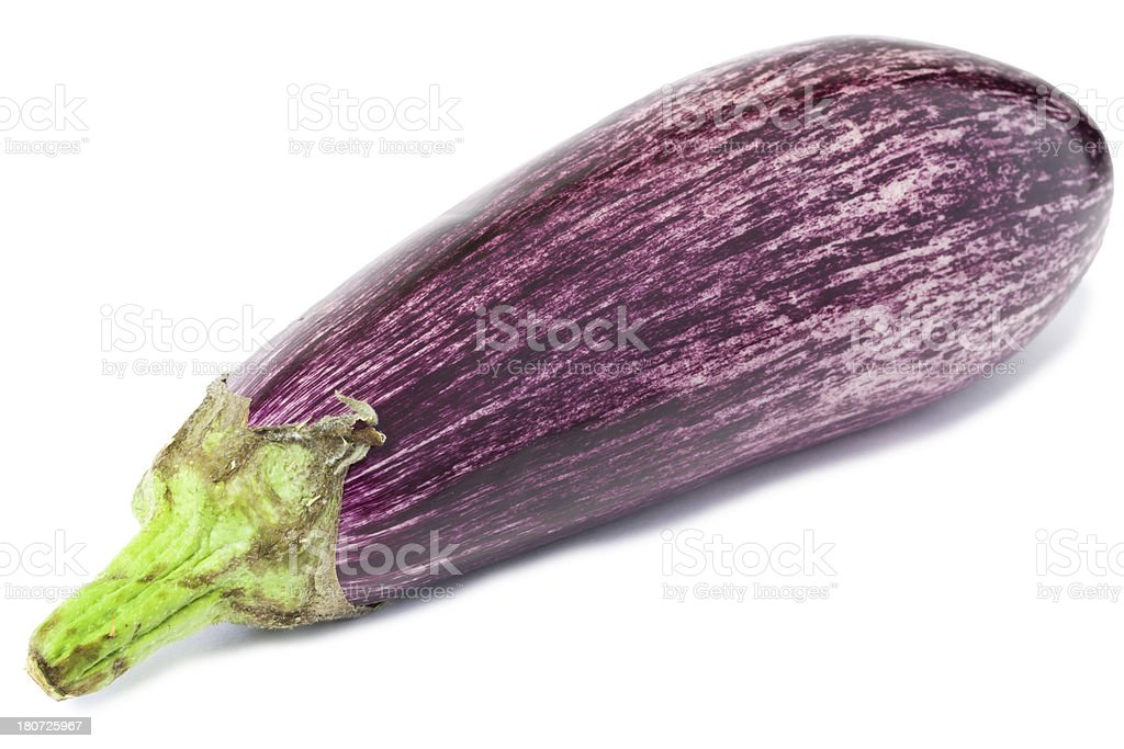 Aubergine or Egg Plant royalty-free stock photo