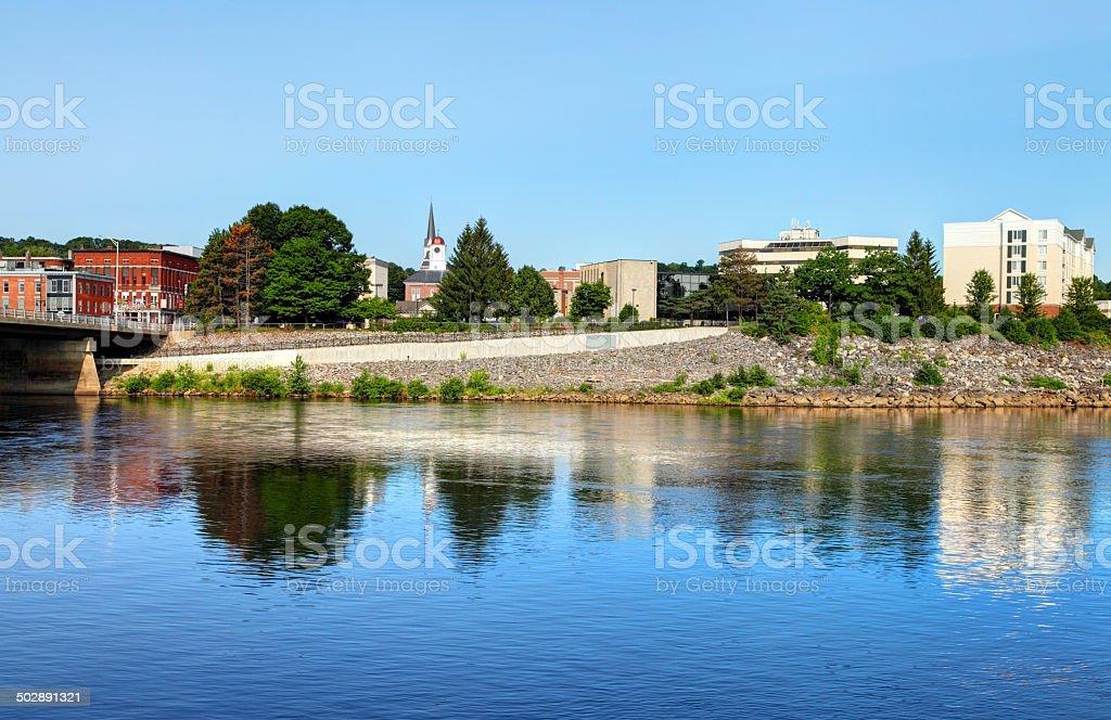 Auburn, Maine stock photo