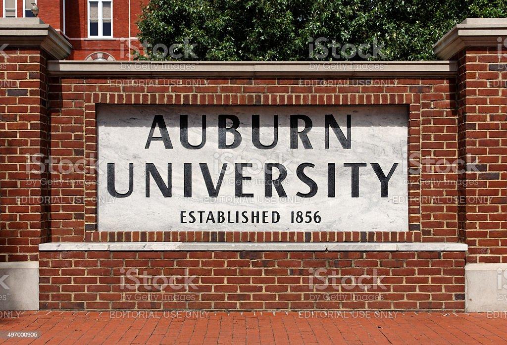 Auburn University stock photo