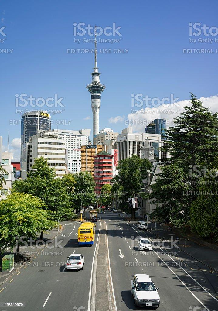 Auckland CBD Access royalty-free stock photo