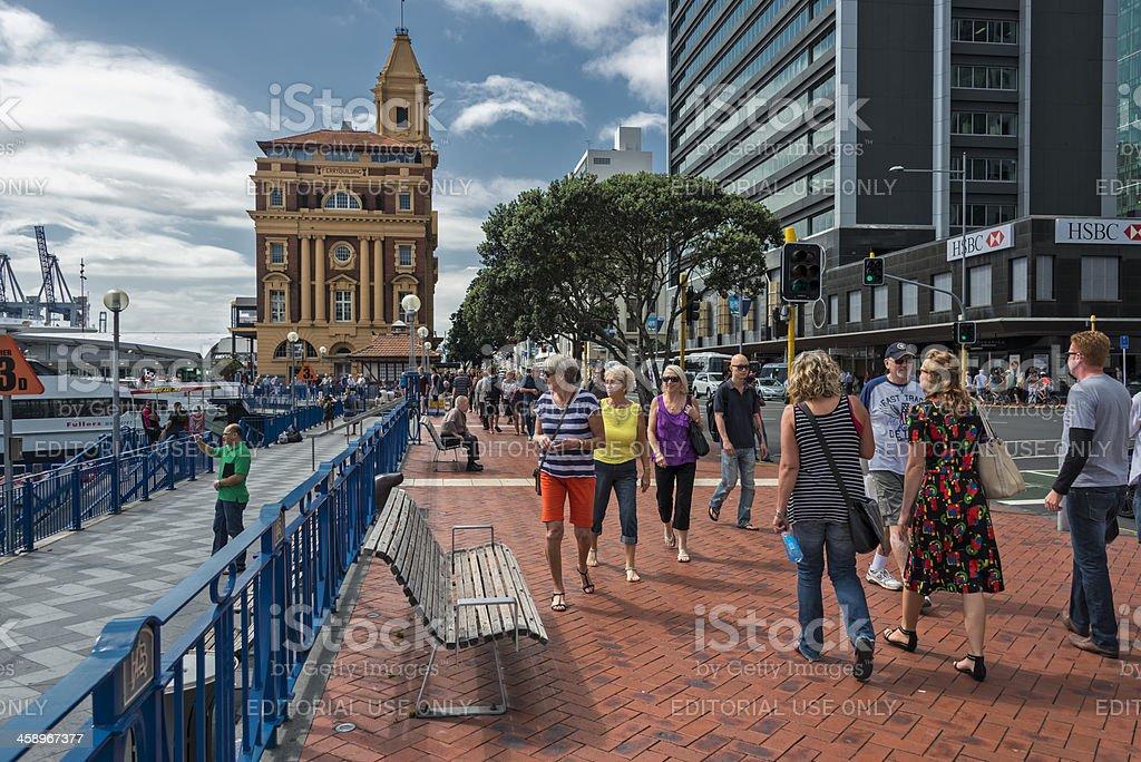 Auckland City Life stock photo