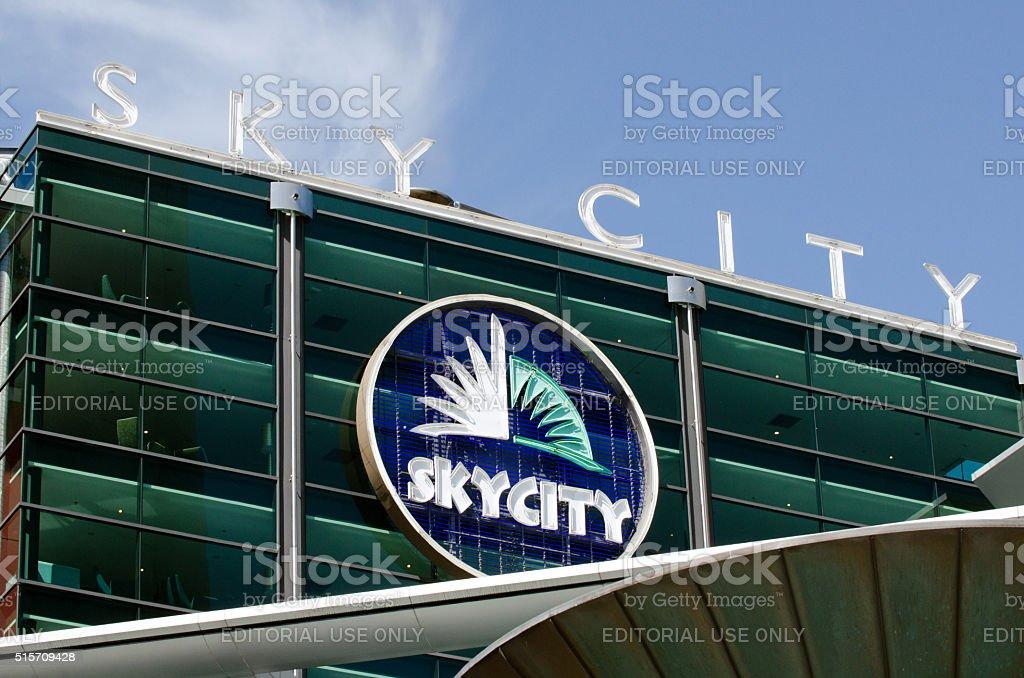 Auckland Cityscape - Skycity stock photo