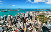 Auckland from top, New Zealand