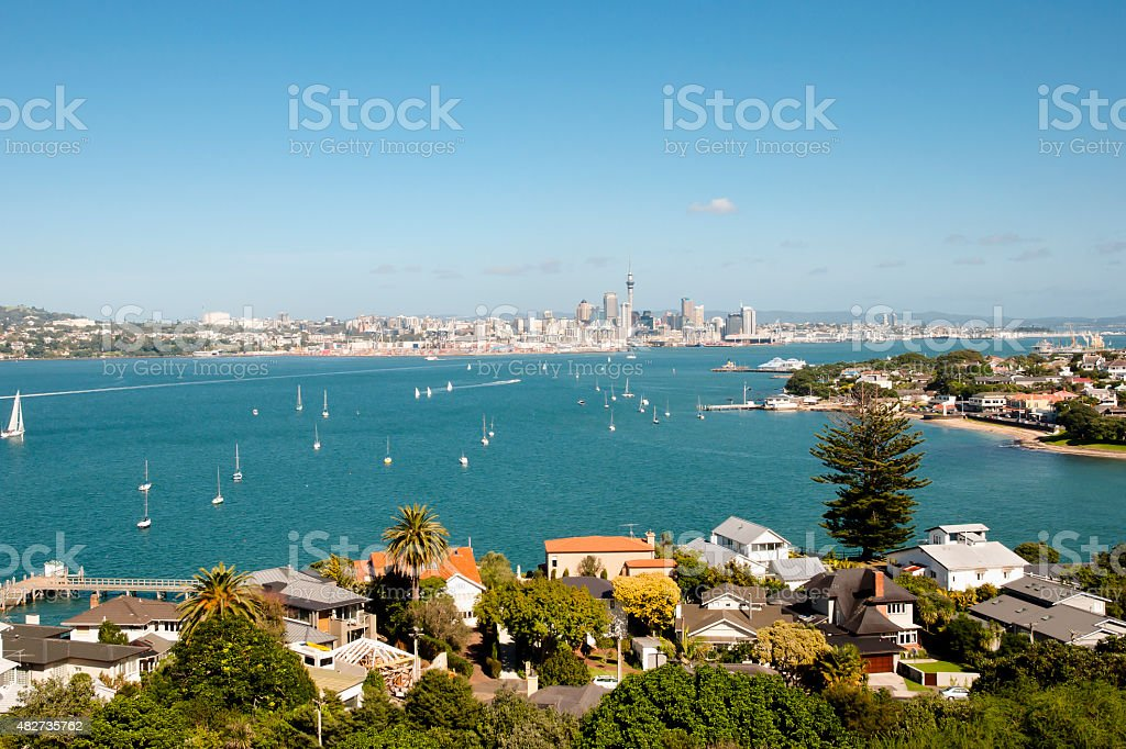 Auckland - New Zealand stock photo