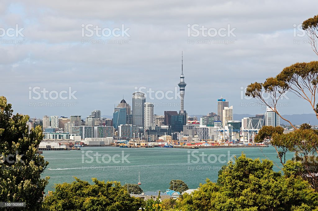 Auckland royalty-free stock photo