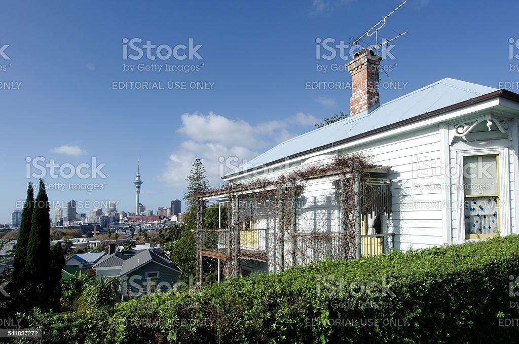 Auckland - Ponsonby stock photo