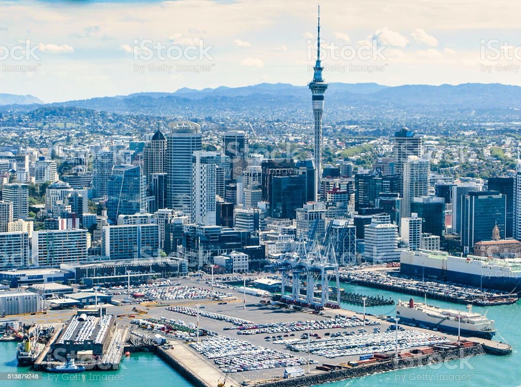 Auckland Tower stock photo