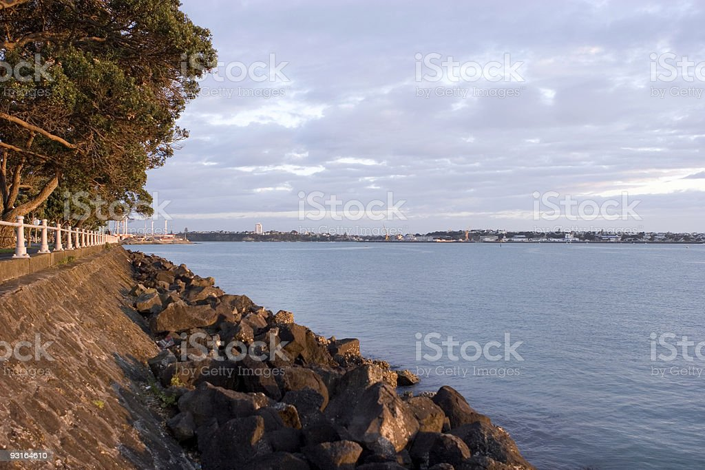 Auckland Waterfront stock photo
