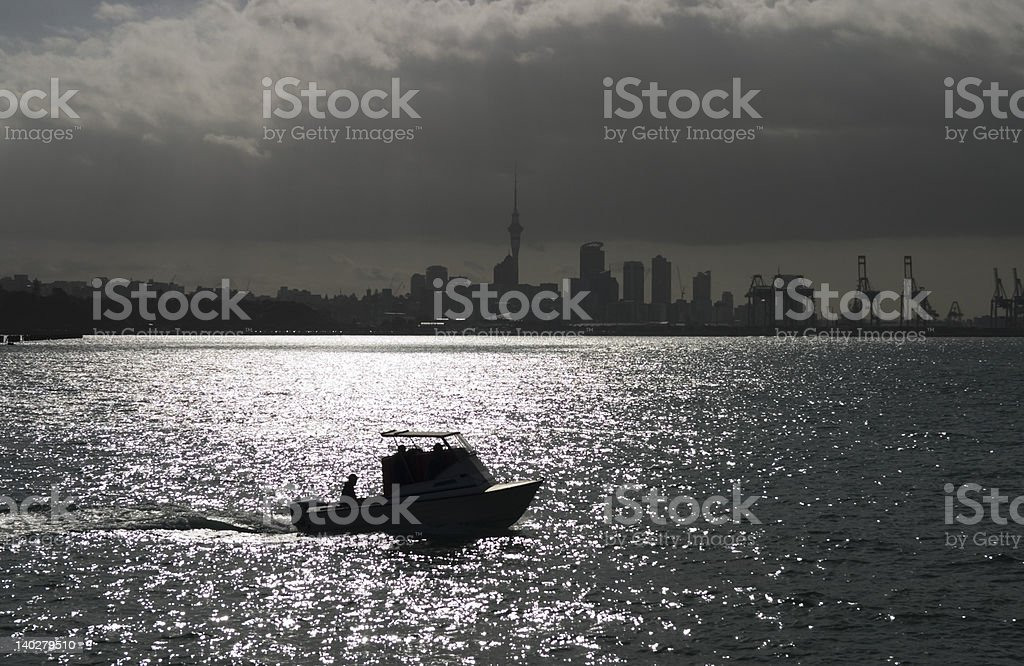 Auckland´s skyline royalty-free stock photo