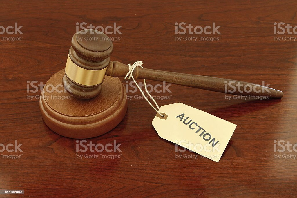 Auction Gavel royalty-free stock photo