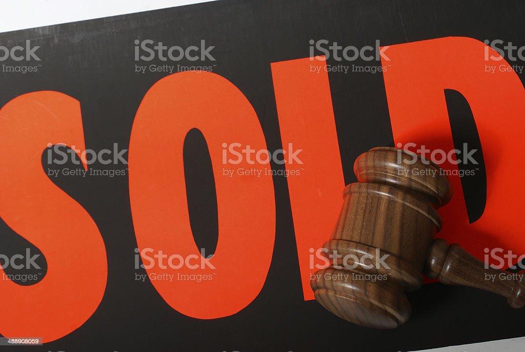 Auction Sale stock photo