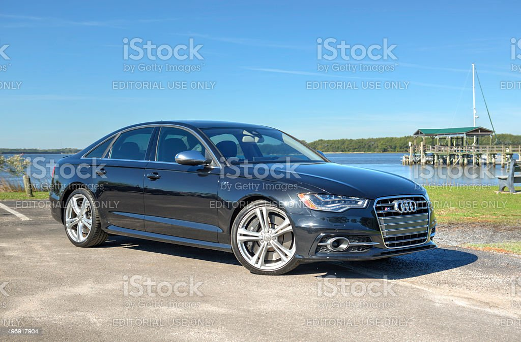 Audi 6 Series 1 stock photo