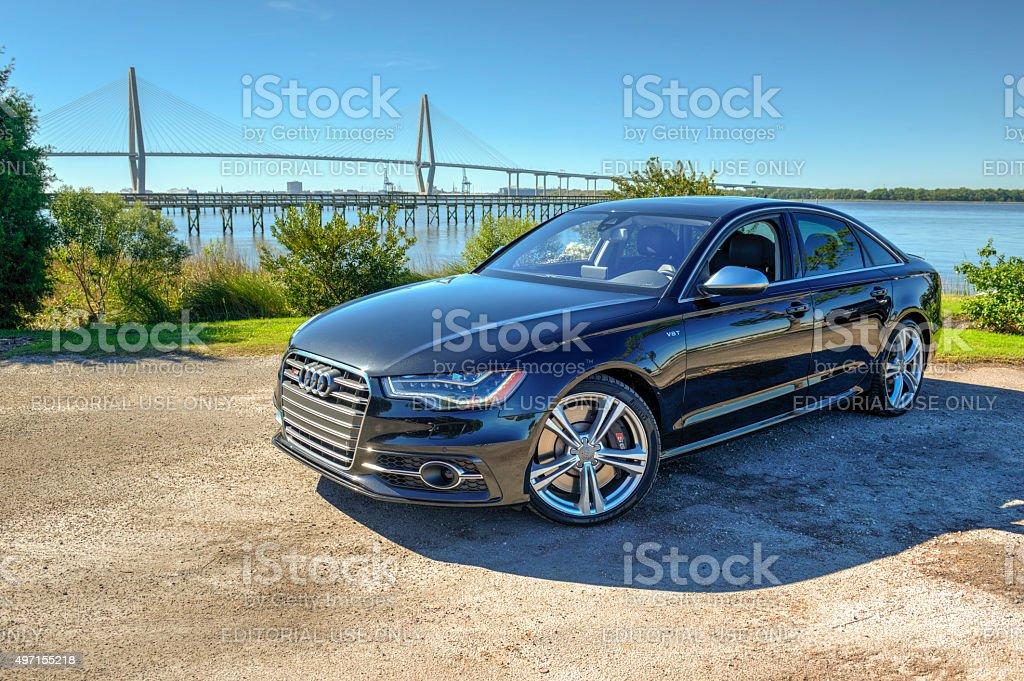 Audi 6 Series 10 stock photo