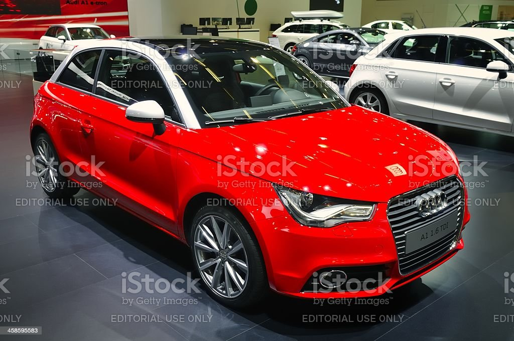 Audi A1 royalty-free stock photo