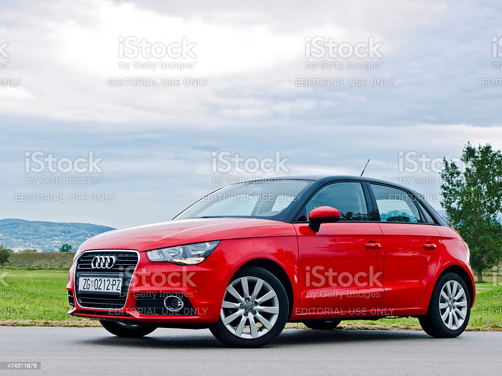 Audi A1 Sportback stock photo