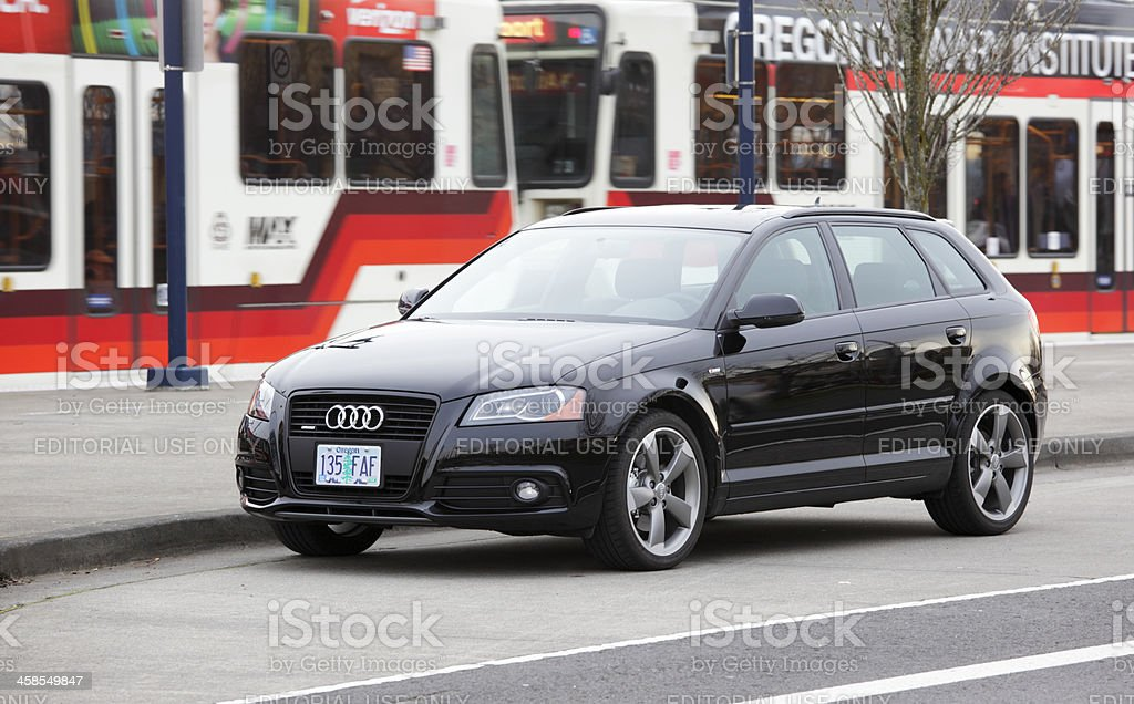 Audi A3 2011 Titanium royalty-free stock photo