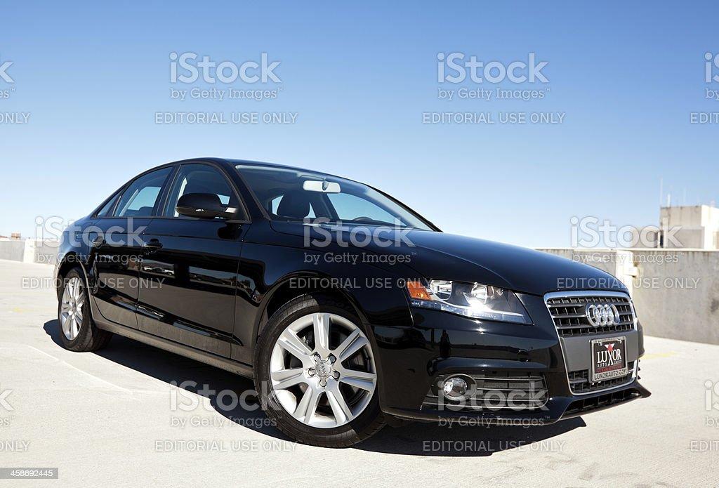 Audi A4 2010 royalty-free stock photo