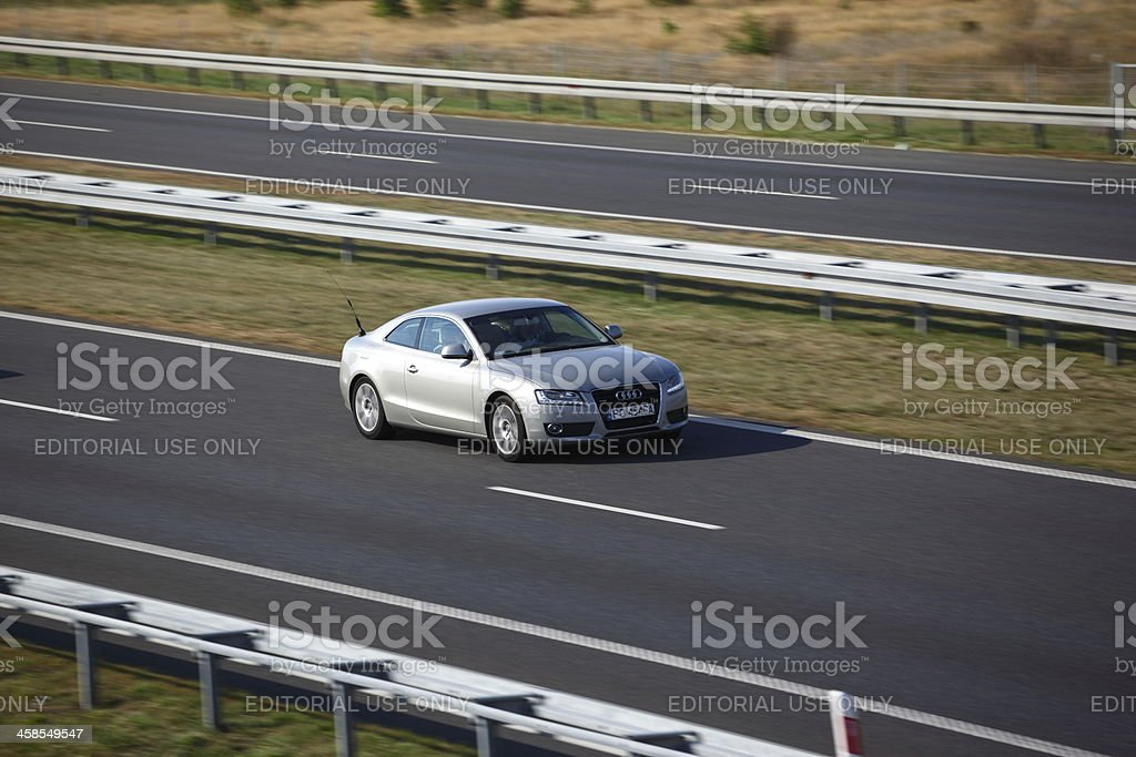 Audi A5 Coupe royalty-free stock photo
