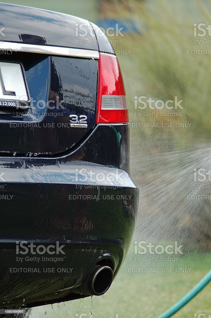 Audi A6 3.2 Quattro stock photo
