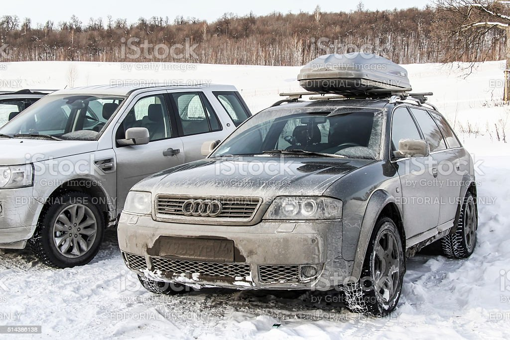 Audi A6 Allroad stock photo