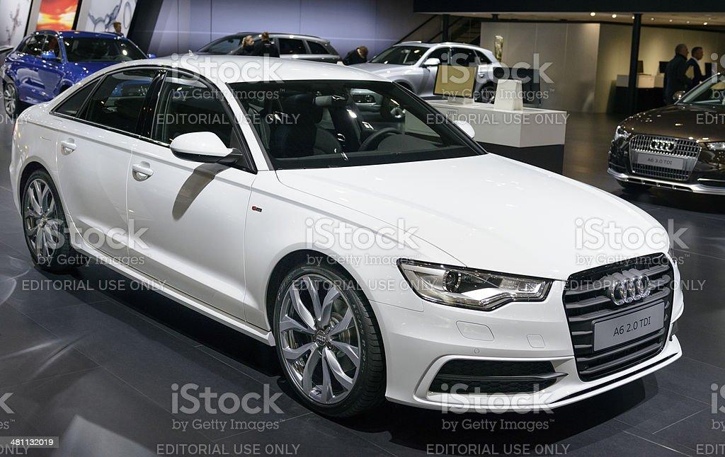 Audi A6 Berline royalty-free stock photo