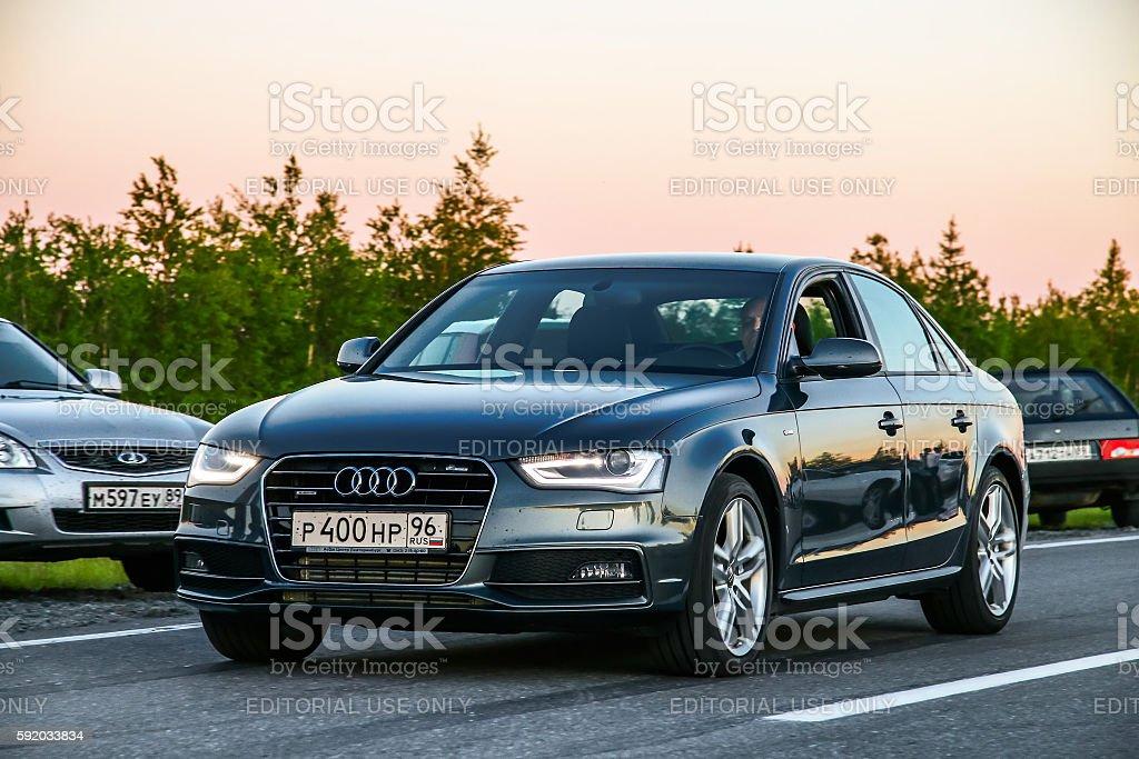 Audi A6 stock photo